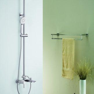 Blue Water Icona Zestaw wannowo-prysznicowy natynkowy ICO-ZWPN.500C