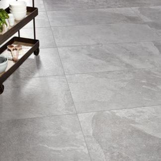 Gres betonopodobny G838 Grey 120x60 łupek