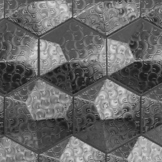 Decus Dec. Piramidal 2 Plata 17x15
