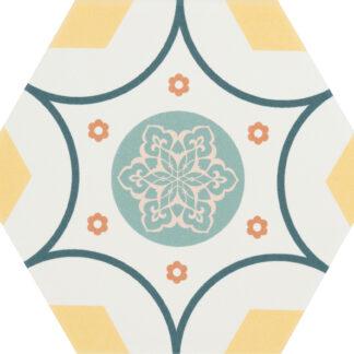 CEVICA gres heksagonalny BOOM DEC.2 14x16