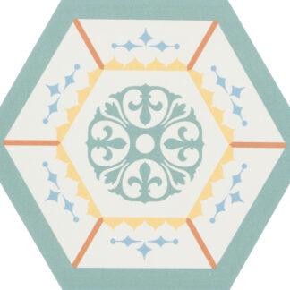 CEVICA gres heksagonalny BOOM DEC.3 14x16