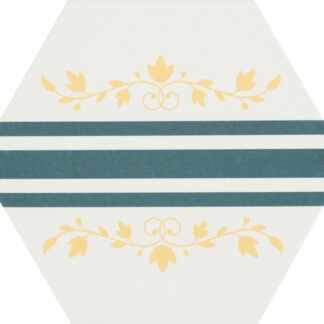 CEVICA gres heksagonalny BOOM DEC.6 14x16