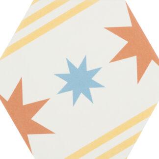 CEVICA gres heksagonalny BOOM DEC.8 14x16