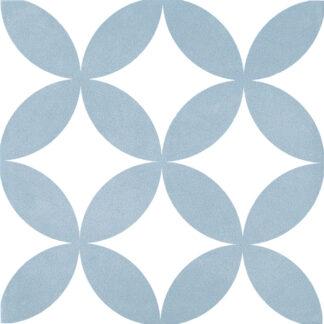 Kerion Neocim Decor Classic Fleur Ciel Gres 20x20